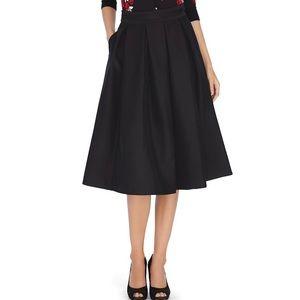 WHBM White House Black Market full midi skirt